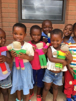 Happy faces at Simcelesile Education Centre