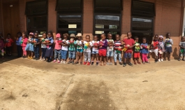 100 bears made 100 smiles at Simcelesile Education Centre